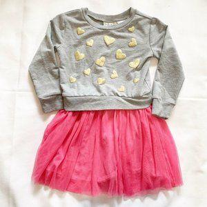 5/$25 Blush by Us Angels heart dress - 5